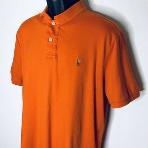 Polo Ralph Lauren Shirt Mens XL Orange